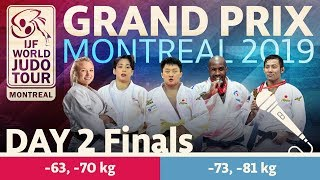 Judo Grand-Prix Montreal 2019: Day 2 - Final Block