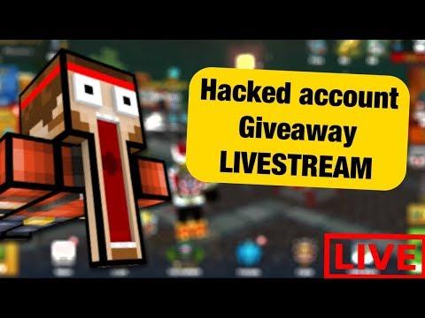 Pixel Gun 3D LIVE!| Giving Away Hacked Accounts