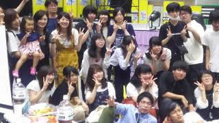 NSG夏フェス 大同窓会 最後はみんなで記念撮影(^^)