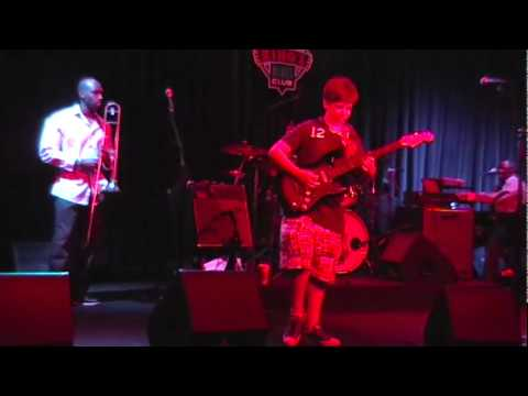 """Tyler Morris performs """"The Thrill is Gone"""" at 12 years old at B.B. King's"""