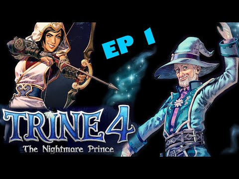 TRINE 4 LET'S PLAY (EP1) - The Nightmare Prince - Funny Moments - CO OP LETSPLAY - RoofTunnel |