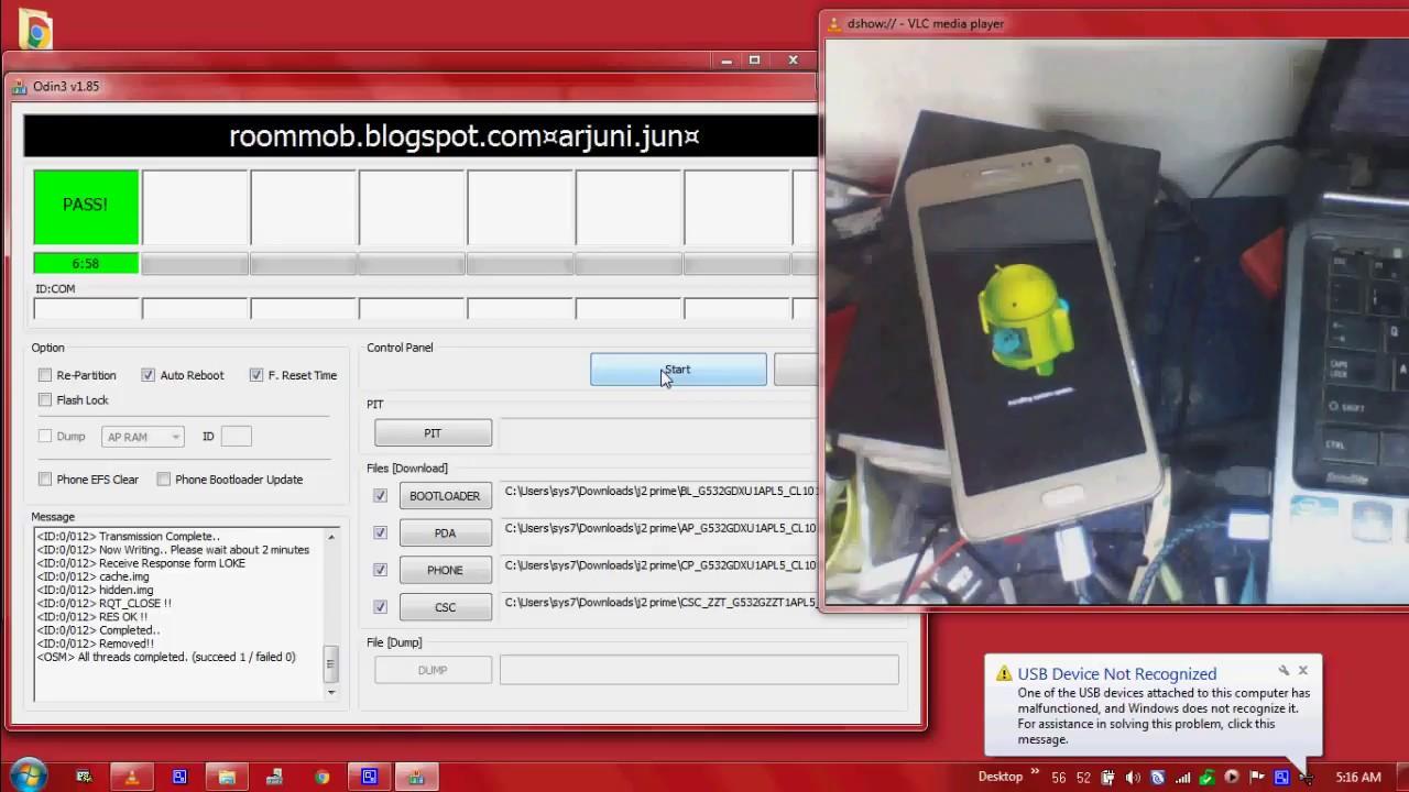 Samsung Galaxy J2 Prime SM G532G Flashing Firmware