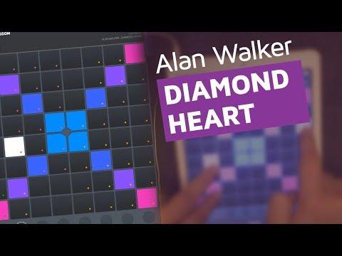 Diamond Heart – Alan Walker Ft. Sophia Somajo – (Super Pads Lights)