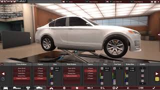 Making an AWD Version of the similar ((C63 AMG)).