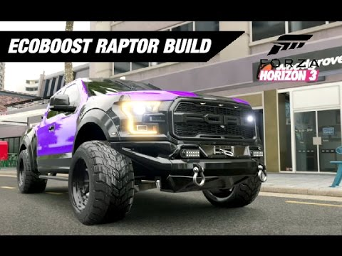 ECOBOOST RAPTOR Mall Crawler Build - Forza Horizon 3