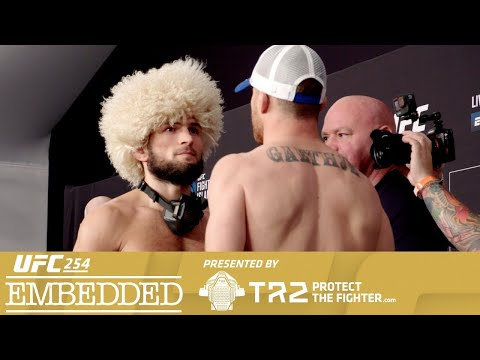 UFC 254: Embedded
