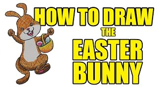 How To Draw The Easter Bunny | Easter Bunnies Drawing for Kids
