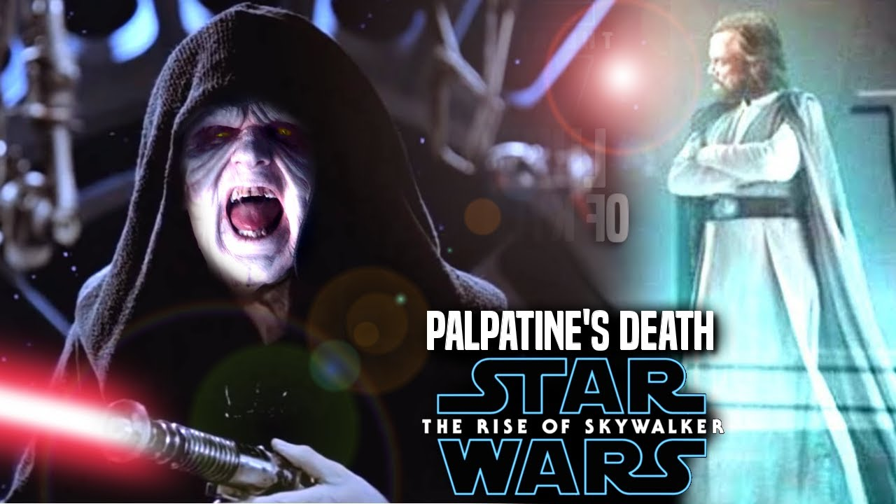 The Rise Of Skywalker Palpatine S Death Leaked Hints Revealed Star Wars Episode 9 Youtube