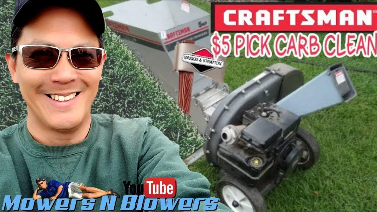 Briggs /& Stratton INTEK 7.5 hp OHV Craftsman Wood Chipper Model 247.776350 Carb