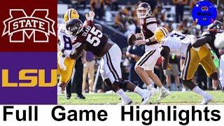 Mississippi State vs #6 LSU Highlights (UPSET ALERT?!) | Week 4 | 2020 College Football Highlights