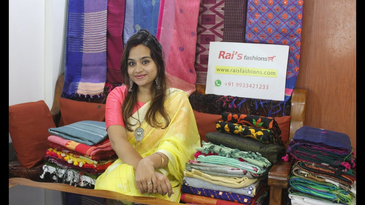 Rai S Fashions Pick From The Beautiful Collection Of Handloom Sarees Online 5th May 2019 Youtube