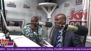 Haruna Iddrisu Vrs Kojo Oppong Nkrumah - #JoySMS on Joy FM (23-8-18)