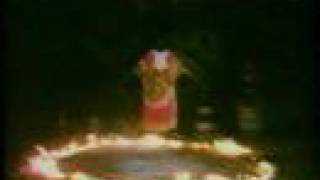 African shaman performing levitation thumbnail