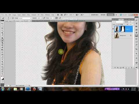 7iun Hướng Dẫn Photoshop CS5 - Sử dụng kênh màu để ghép ảnh chân dung