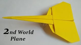2nd World Record Paper Airplane That Flies Far -  Must Try & Share with your Friends
