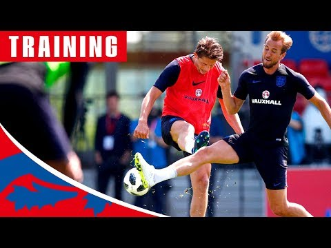 Pinpoint Finishing in England's First Training Session! | Inside Training | England