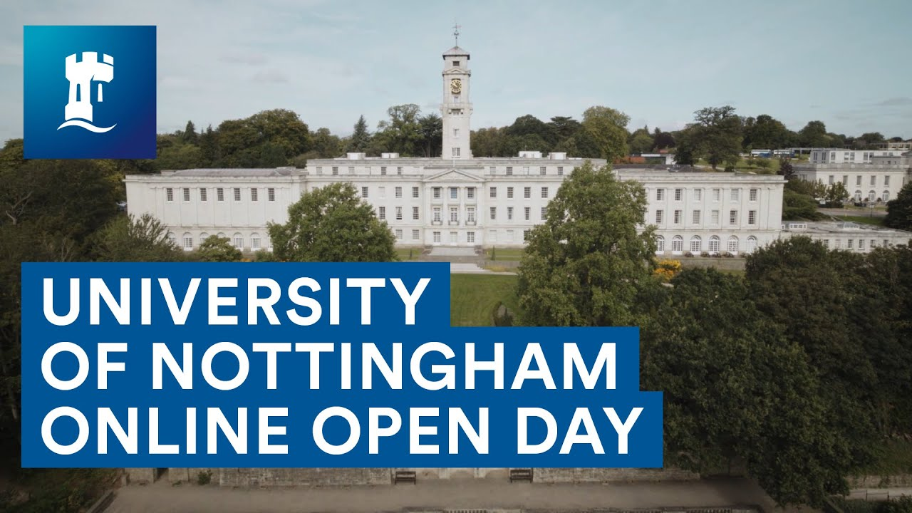 University of Nottingham online open day - YouTube