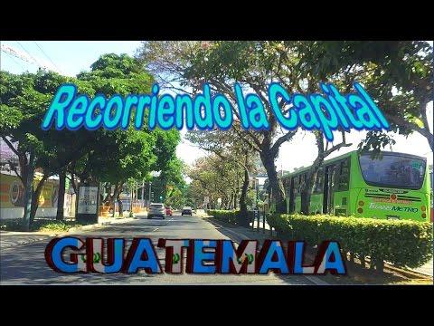 DESDE ZONA 12 HASTA LA ZONA 9 (Hermosas calles) #2