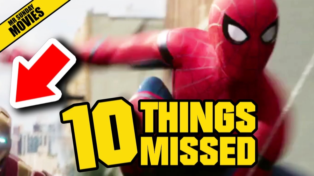 10 'Spider-Man: Homecoming' Easter Eggs You Might Have Missed