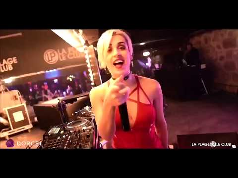 DJ JADE LAROCHE   LA PLAGE LE CLUB Marc Dorcel party