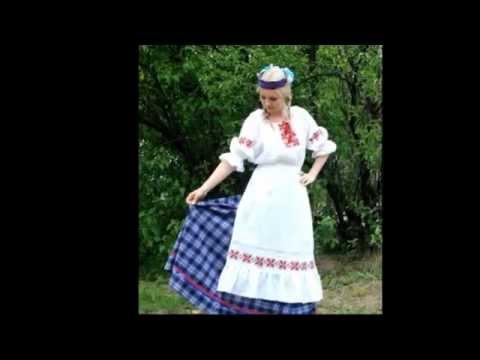 Вышивка белорусская народная