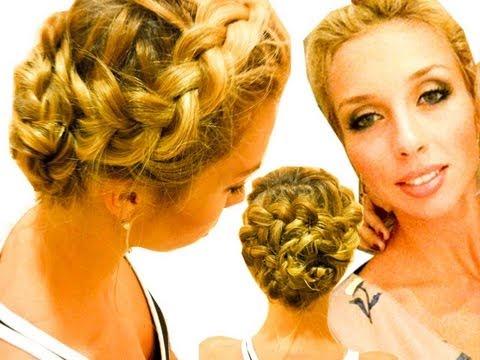 Коса Цветок. Плетение косы
