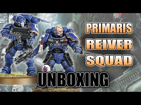 Primaris Reiver Multi-Part Kit Review: Space Marine 8th