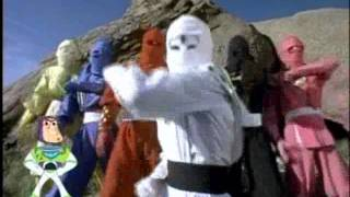 Mighty Morphin Power Rangers Season 3 - Ninja Rangers Morph