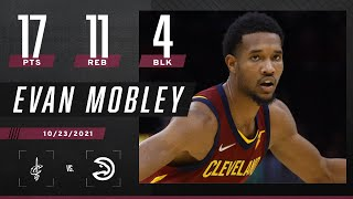 Evan Mobley drops 17 PTS, 11 REB & 4 BLK against the Hawks 👀