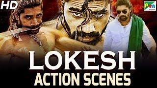 Lokesh Best Action Scenes | Mandya Star | Action Hindi Full Dubbed Movie