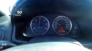 Funcionamento dos conta giros Mazda 6