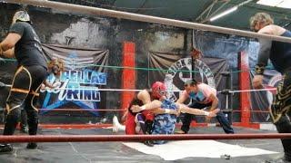 Lucha Semifinal en el C.A.R de THE CRASH / duelo en RELEVOS AUSTRALIANOS