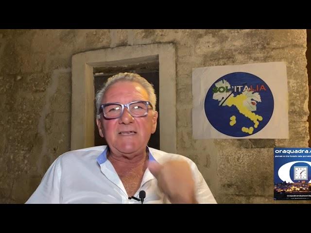 Sergio Sisto (Solitalia), anche per questa campagna elettorale sarà candidato Sindaco