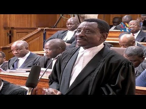 Security features missing from some form 34As - James Orengo