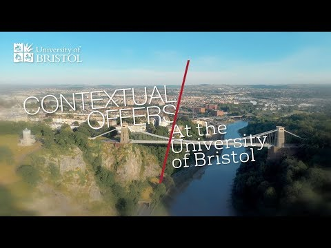 Contextual offers at the University of Bristol