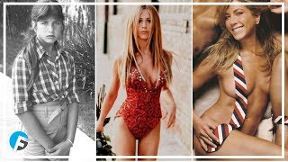 Jennifer Aniston 1969 - 2017   Jennifer Aniston Changing Looks From 1 To 48 Years Old