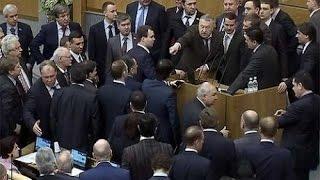 """(Полная версия). В Госдуме России отклонили законопроект об отмене термина НКО-""""иностранный агент"""""""