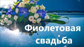 Фиолетовая  свадьба.Орхидея Ванда .Vanda Wedding