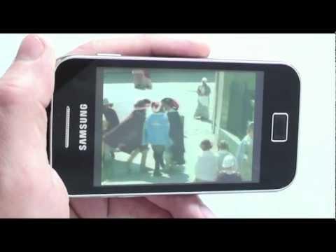 Samsung S5830 Galaxy Ace - видеообзор ( Ace S5830 ) от магазина Video-shoper.ru
