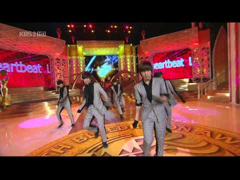 091202 2PM Heartbeat @ 30th Blue Dragon Flim Awards [KBS 2 HD]