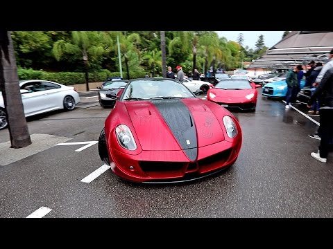 Ferrari Mansory TAXI at Cars and Coffee French Riviera | ft.