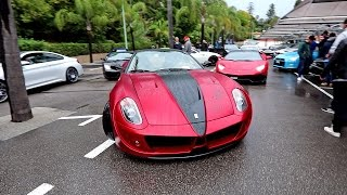 Ferrari Mansory TAXI at Cars and Coffee French Riviera | ft. Q&A