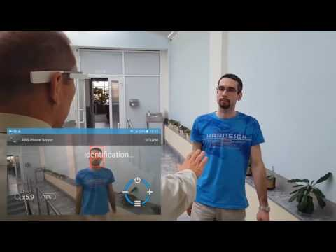 Android Augmented Reality AR Glasses Face Recognition by 3DiVi
