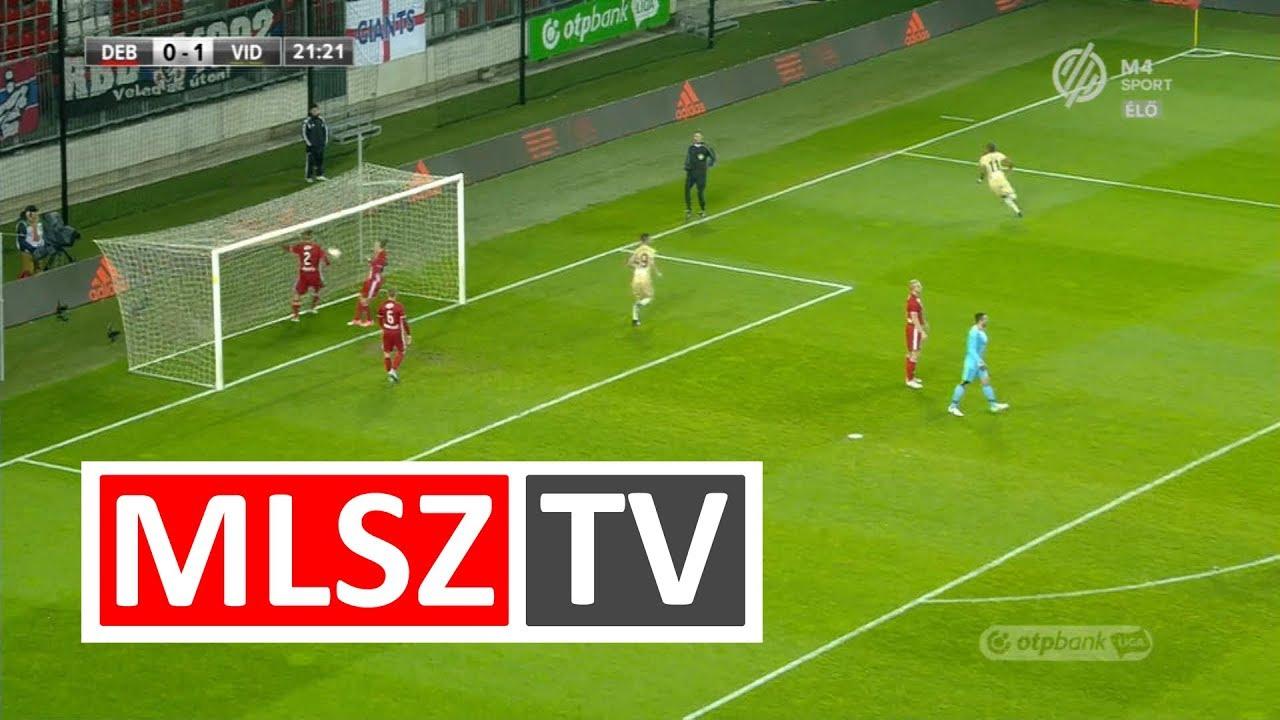 Nego Loic gólja a DVSC – Videoton FC mérkőzésen - YouTube