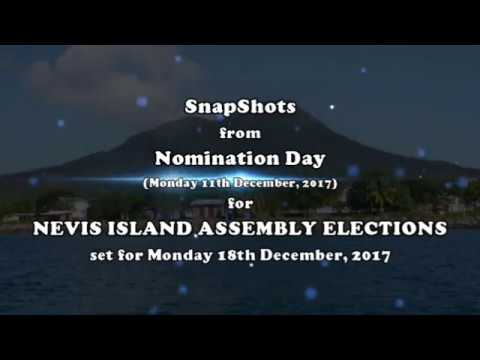 NEVIS ISLAND ASSEMBLY NOMINATION DAY 2017