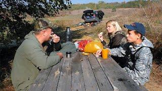 ПОСЛЕДНЯЯ РЫБАЛКА ГЛЕБУСА Ночёвка в палатке осенью