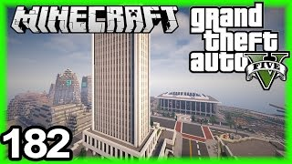 GTA 5 in Minecraft #182 | Amazing building + outlines :)