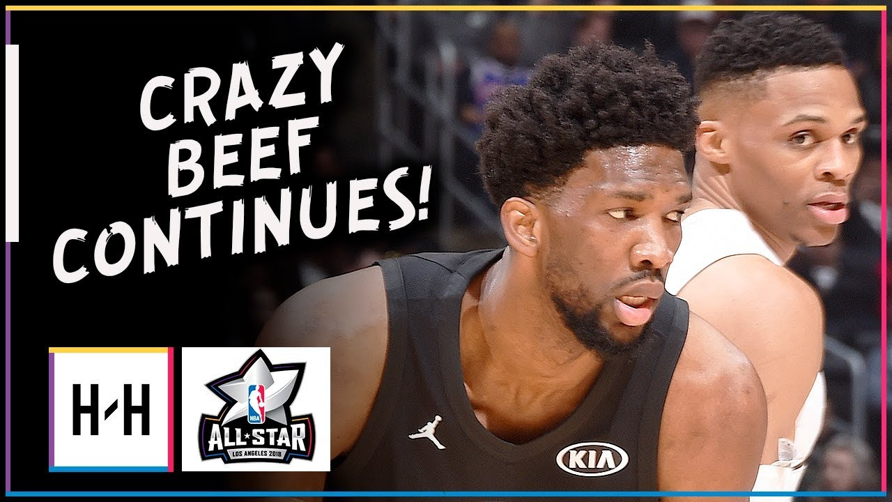 russell-westbrook-vs-joel-embiid-crazy-beef-duel-highlights-at-2018-all-star-game