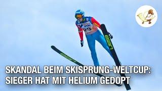 Skandal beim Skisprung-Weltcup: Sieger hat mit Helium gedopt