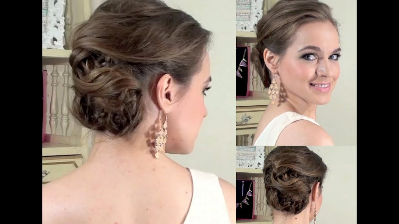Classic Side Updo What I Wore To The Indashio Show Youtube